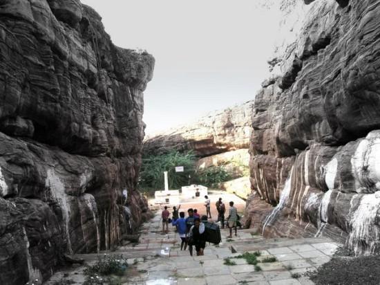 Temple_area_Badami_Karnataka