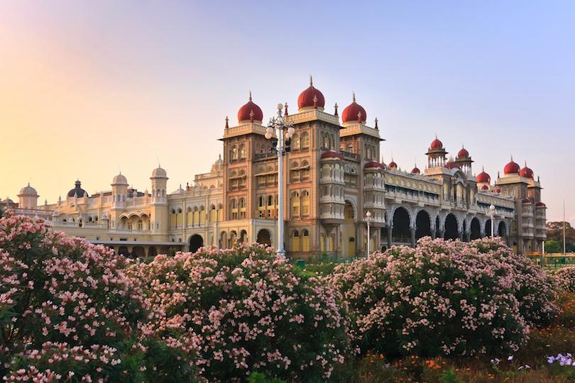 The famous Mysore Palace , Mysore , India